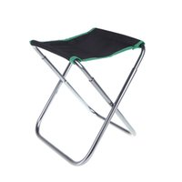 Wholesale Foldable Aluminum Oxford Cloth Chair Outdoor Patio Fishing Camping with Carry Bag Green