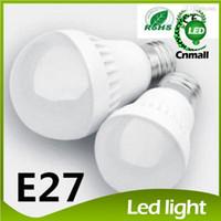 Globe 5w e27 led - Hot LED Bulbs E27 Globe Bulbs Lights W W W W SMD LED Light Bulbs Warm Pure White Super Bright Light Bulb Energy saving Light Lamp