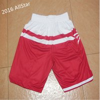 Wholesale 2016 Toronto All Star Game Basketball Shorts Best quality Accept Mix Order