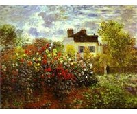 art house reproductions - reproduction canvas art Monet Handmade canvas painting decoration painting house landscape art P10