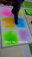 Wholesale Liquid motion floor Kids candy liquid floor tiles cmx40cmx5 mm