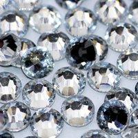 best glue for rhinestones - Best Quality SS30 mm Bag Clear Crystal Hot Fix FlatBack Rhinestones With Glue DIY Hotfix Glass Stone For Garment