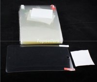 Wholesale Clear Screen protector for ipad air mini retina Samsung galaxy tab S tablet pc Film Screen protector no package