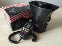 Wholesale 100W Car Horn Siren PA System V Loud Megaphone Mic Motorcyle RV Truck A