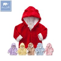 bella coat - davebella David Bella autumn male and female baby baby warm coat hooded zip cardigan jacket WT