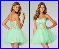 Cheap 2015 Sexy Cocktail Homecoming Dresses A-Line Sweetheart Mini Tulle Piping Applique CrystalSequinCocktail Dress Sexy Short Cheap Prom Dresses