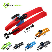 mud tires - 26 quot Bike Bicycle Cycling Road MTB Fender Mudguard Front Rear Quick Release Mud Guard Set Mountain Bike Tire Fenders