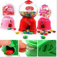 Wholesale 1PC Hot Cute Mini Candy Machine Piggy Bank Saving Box Coin Bank Kid Child Money Box Toy