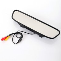 Wholesale 4 Inch TFT Car Monitor Mirror View Rearview Auto LCD Screen Backup Camera for Car Reversing Record