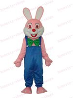 Wholesale Hot Sale High quality PROFESSIONAL special Customized Robbie Rabbit Mascot Costume Christmas Adult Party Dress