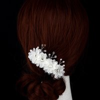Wholesale Europe Wedding bridal headdress hair accessories wedding flower color optional multipurpose wrist camera photography props