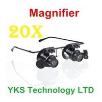Wholesale 1Pcs New Designed Metal Frame X Watch Repair Glasses Type Magnifier