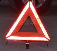 Precio de El tráfico de potencia-¡Envío libre! El coche de la alta calidad llevó el marco de aviso triangular, energía triangular de la señal de tráfico de la señal de peligro por la batería seca 3 * 5 #