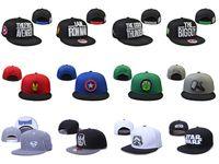 Wholesale 2015 Cartoon Snapback Caps Super Heros The Avengers Brand Fashion Baseball Hats Cheap