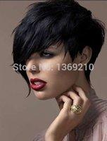 Cheap Synthetic Hair Wigs Best Black Wigs