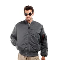 fashion clothes for men - New Arrival Pilot Jacket For Men Solid Style Military Flight Jacket Fashion Men Clothes Color Can Choose MA