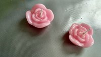 floating candles - A set of roses floating candles
