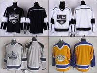 ashes series - 2016 men Los Angeles Kings Hockey Jerseys Blank No Name Black White New Camo Stadium Series Silver Ash Grey LA Kings Jersey