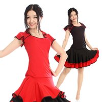 latin dress - Competition Dance Costume Latin Dance Dress Woman Competition Top Skirt Latin Dresses For Sale Miao Clothing Ropa Baile Latino DQ3034