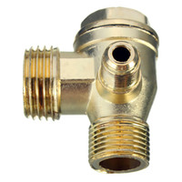 air compressor check valve - Lowest Price Brass Male Threaded Check Valve Miniature air compressor pump accessories