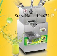 automatic adjustment - Free ship SXC Commercial Sugar Cane juicer Electric Juice Extractor kg H Automatic Adjustment Stainless Steel Cane Juicer