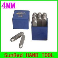 Wholesale BESTIR high quality alloy steel mm metal number punch stamping set good hardness and tenacity NO