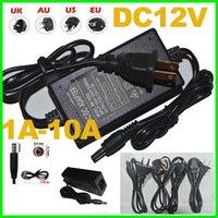 12v dc adaptor - 1pcs Power Supply Adapter AC100V V Converter DC V A A A A A A Adaptor EU UK AU US PLUG