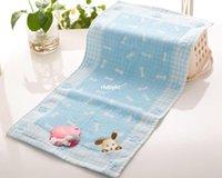 merchandise - 50pcs Cotton towel factory outlets towel boy dog bones shop explosion models super authentic merchandise infant home