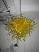 beautiful romantic bedrooms - Beautiful Modern Luxurious Yellow Pendant Lights Hand Blown Murano Glass Romantic Flower Chandelier for Villa