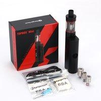 starter beginner - Authentic Kanger Topbox Mini W Kit Subox Mini Pro Starter Kit Top Refilling Tank Watt TC Mod Newest KangerTech Beginner Kit