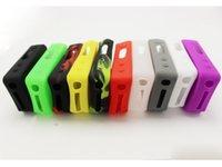 Precio de Caso ipv3-Casos bolsa de la caja del silicón del silicio de goma colorida de la manga protectora de la cubierta del gel de silicona de la piel para IPV3 LI IPV4S Subox Mini KBOX