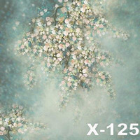 Follow to size baby child photos - custom vintage floral blossoms for baby photos vinyl backdrops camera fotographical digital studio photography background backdrop