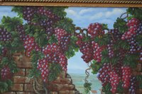 oil painting gallery - 100 of hand painted oil painting gallery grapes at the home of the canvas original home decoration only a picture