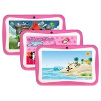 Wholesale Children inch Android Tablet PC slip tablet pc earthquake tablet WIFI Internet support systems exist to expand