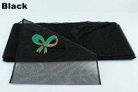 al por mayor organza marco de la silla cubierta de color negro-Presidente de mirada agradable en color Negro Organza \ Silla Silla del arco del lazo Para cubierta de la silla de la boda