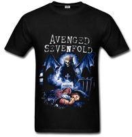 avenged sevenfold shirt - hip hop Avenged Sevenfold d printed t shirt fashion fitness men T Shirt Cotton O Neck t shirt men Tops AV01