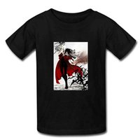 best fight shorts - Hot Selling HELLSING Vampire Fighting T Shirts Mens Best Cotton Short Sleeve Summer Fashion Man T Shirts M XXXL