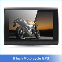 automotive motorcycles - 5 Inch GB HD x Motorcycle GPS Waterproof Design Bluetooth GB Internal Memory FM Free Maps