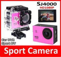 amateur boxing - SJ4000 HD P Cam Sports Action Waterproof Camera Car DVR Sport DV inch Screen with Retail Box