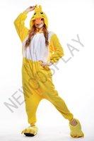 Cheap 2015 Cartoon Characters Cheap In Stock Kangaroo Pajamas Anime Pyjamas Cosplay Costume Adult Unisex Onesie Dress Sleepwear Free Shipping A051