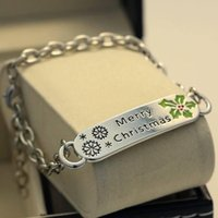 Wholesale Christmas bracelet Christmas decoration Christmas party MM favorite party decoration gifts women