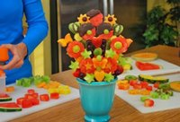 Wholesale Hot Sales Creative Kitchen Gadgets Accessories Tools Plastic Fruits Vegetable Shape Cutter Slicer Food Decor C315