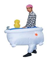 bathtub tv - Men s Good Clean Fun Inflatable Bathtub Costume halloween party costumes for man