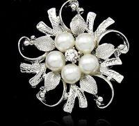 Wholesale Popular fashion brooch brooches bride wedding high grade quality brooch pin flowers fashion women s jewelry