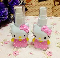 Wholesale empty perfume spray bottles famous cat shape mini spray bottles ml plastic spray bottles GIRLS FAVORS