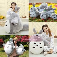 Wholesale Lovely Cartoon HotSale Totoro Plush Toys In cm Kids Toys Small Cat Dolls Girls Birthday Present Christmas Tuba MYF20 New