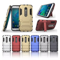 abs shock - Hybrid KickStand Anti Shock Defender Armor Case TPU PC cover for Moto X Style XT1570 HUAWEI Mate S MEIZU MX PRO