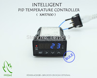 Wholesale BLUE LCD AC DC85 V XMT7100 PID TEMPERATURE CONTROLLER GUARANTEED