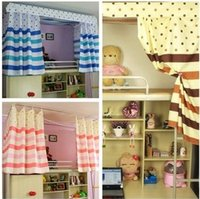 Wholesale Essential artifact bedroom dormitory bunk bed nets on the curtains blackout curtain fabric