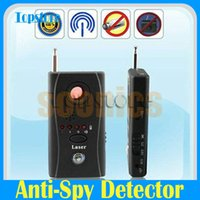 Wholesale Anti RF Signal Hidden Camera Camcorder Wiretap Len GSM Bug Wireless Finder Detector